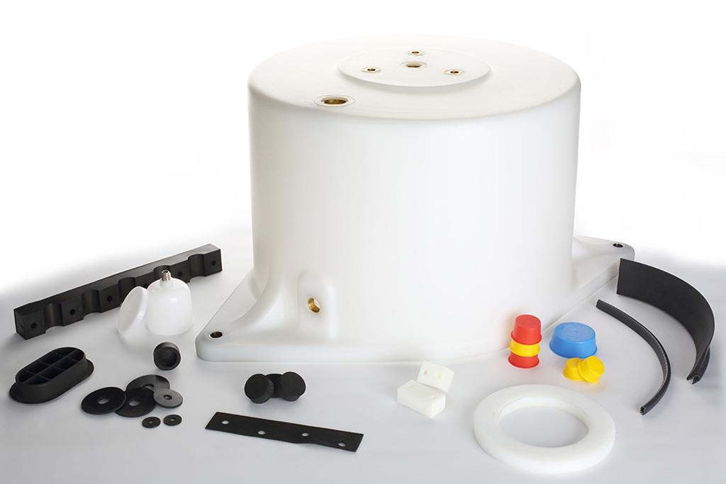 Silentblocks, antivibratorios, protege cantos, perfiles, inyección EPDM, arandelas…